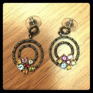 Jewelry - Gem sterling earrings